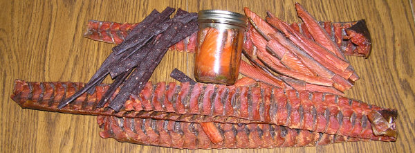 Strips and  Jerky
